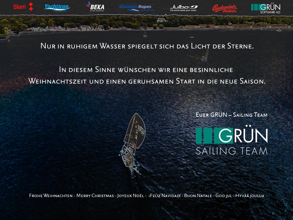 merry X-mas - GRÜN Sailing